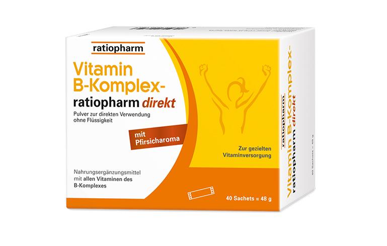 Vitamin B-Komplex-ratiopharm® - alle 8 B-Vitamine für